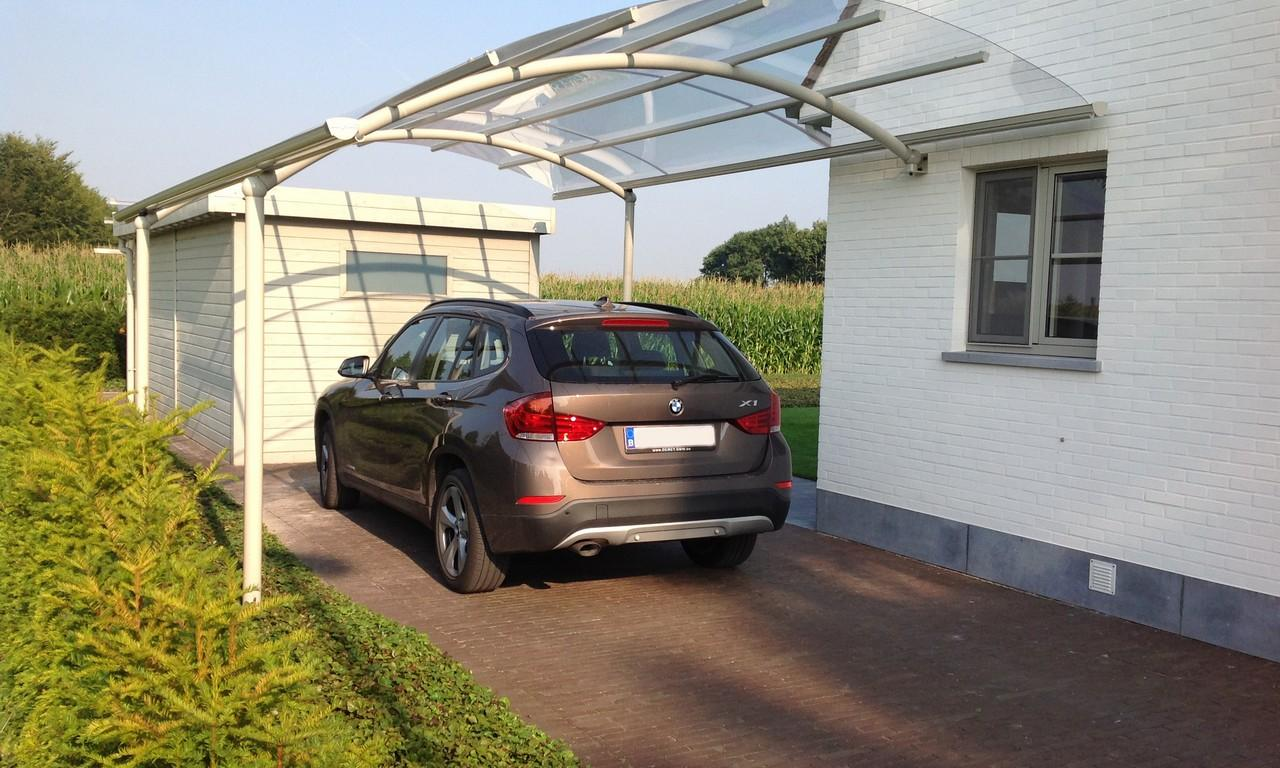aluminium carports en overkappingen voor je auto mobilhome caravan bozarc. Black Bedroom Furniture Sets. Home Design Ideas