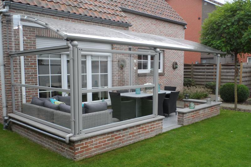 Auvent terrasse aluminium accueil design et mobilier for Amenagement jardin waremme